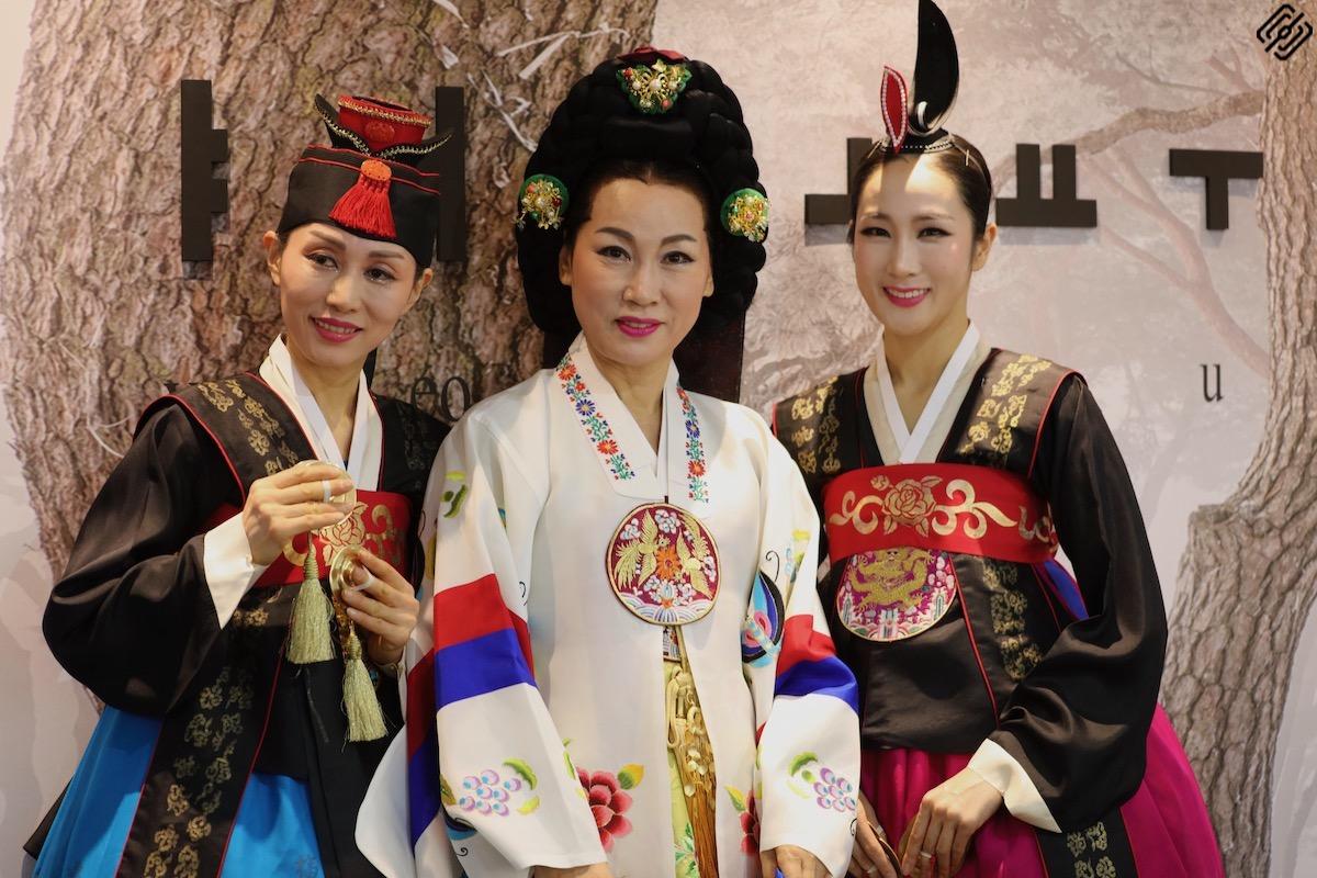 Fitur 2020 | Reina Doña Leticia recepción Korea