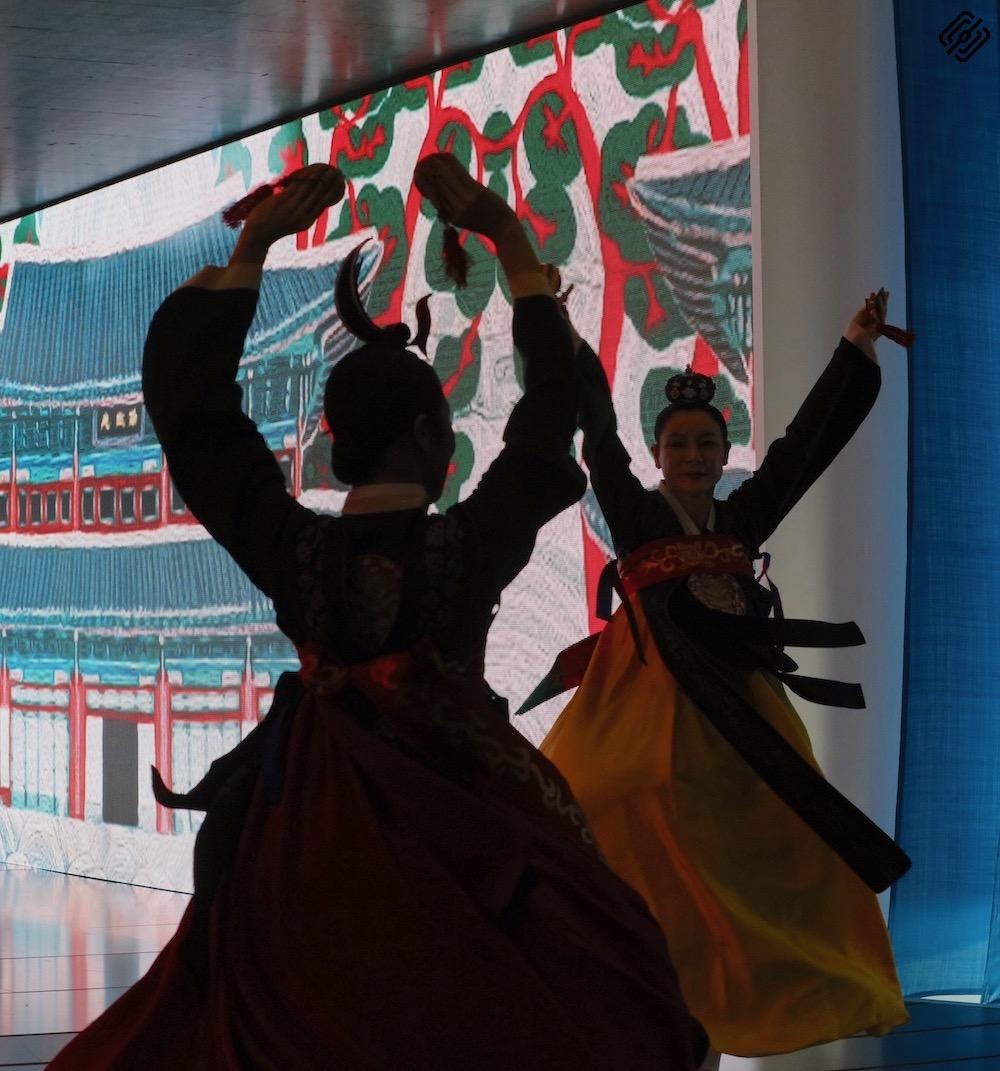 Fitur 2020   Reina Doña Leticia recepción Korea
