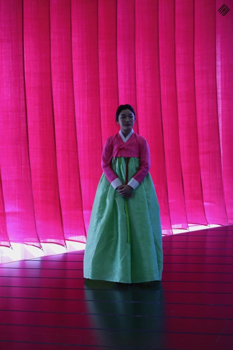 Fitur 2020   Traje tradicional Korea del Sur