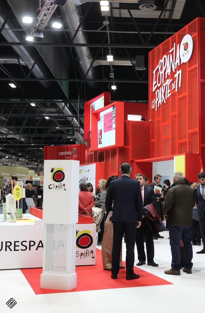 Fitur 2020   Inauguracion Paradores España